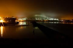 Runcorn Bridge (RandomBoo) Tags: night canoneos runcorn widnes rivermersey silverjubileebridge 1000d