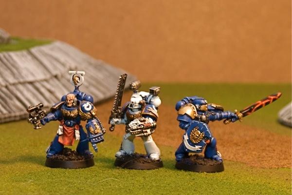 WIP Command Squad