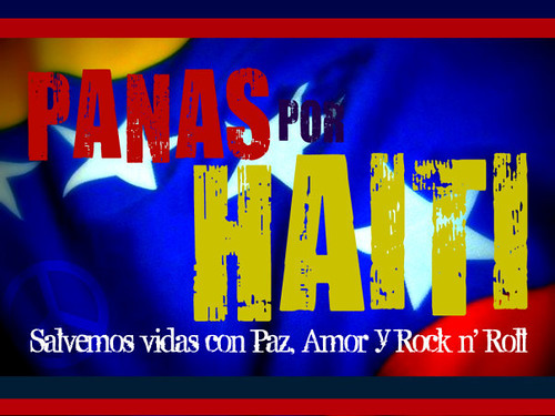 Concierto Panas por Haití