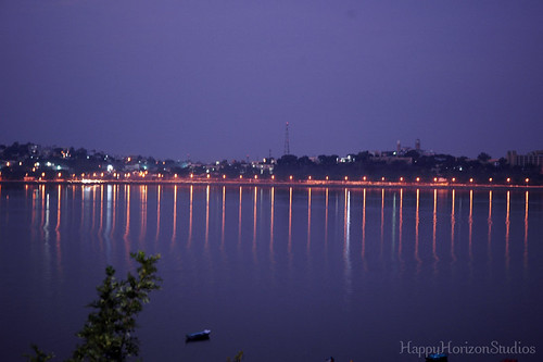 Bhopal Lake reflections