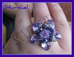 Nenufar violeta
