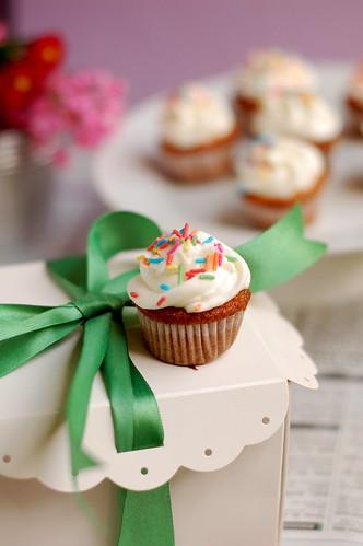 Billy's Vanilla Cupcake