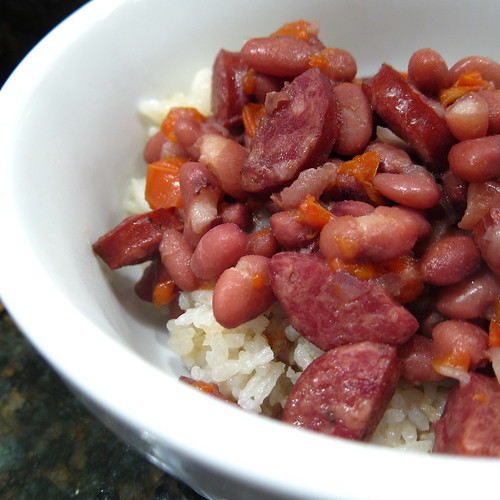 #27 - Red Bean, Sausage & Rice