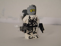 Sno Camo (Sniper_Season) Tags: snow army cool fig camo custom minifigure brickarms