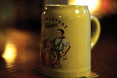Oktoberfest (lxromero) Tags: beer bar drink oktoberfest german alcohol mug panama stein erdinger steinbock steinbocks