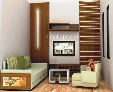 Desain Ruang Keluarga Tamu Apartemen