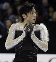 Johnny Weir not Alex Semin