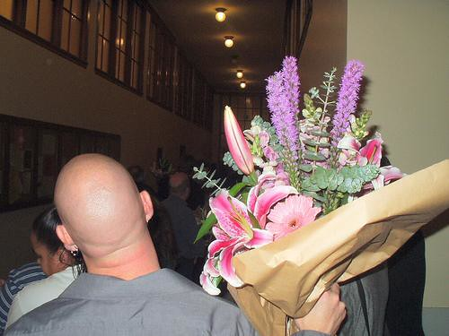 GAY MARRIAGE-2004- WEDDING BOUQUETS
