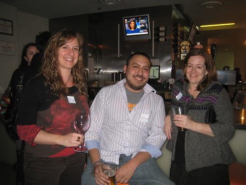 From left: Sonia, Adam and Julia