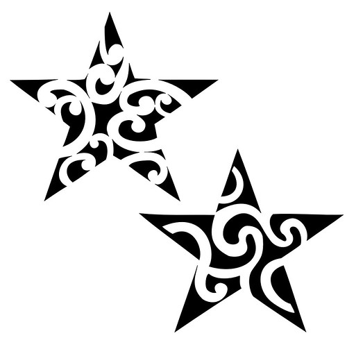 maori-star-tattoo by DAVID JAGUA TATTOO