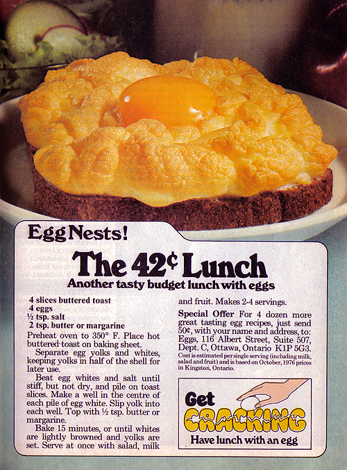 Vintage Ad #1,020: The 42 Cent Lunch