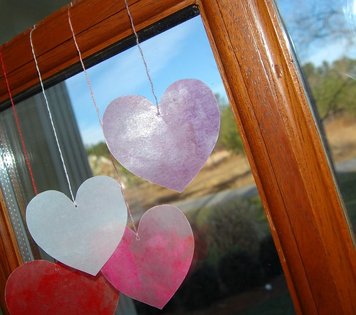 Stain Glass Hearts - Valentines