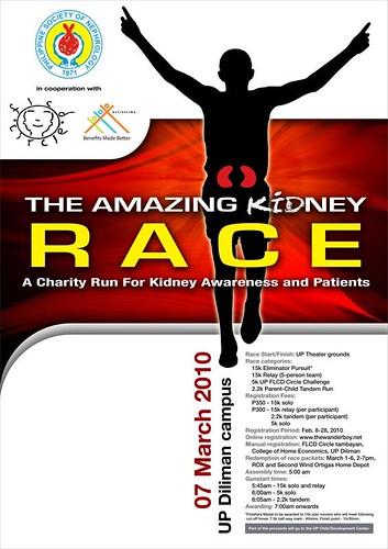 amazing kidney race 2010