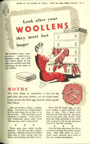 Look After Your Woollens, pg 1