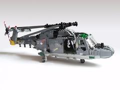 Royal Netherlands Navy SH-14D Lynx (1) (Mad physicist) Tags: dutch lego navy helicopter westland lynx 122 koninklijkemarine royalnetherlandsnavy