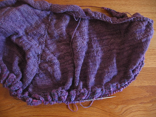 Purple Little Shawl