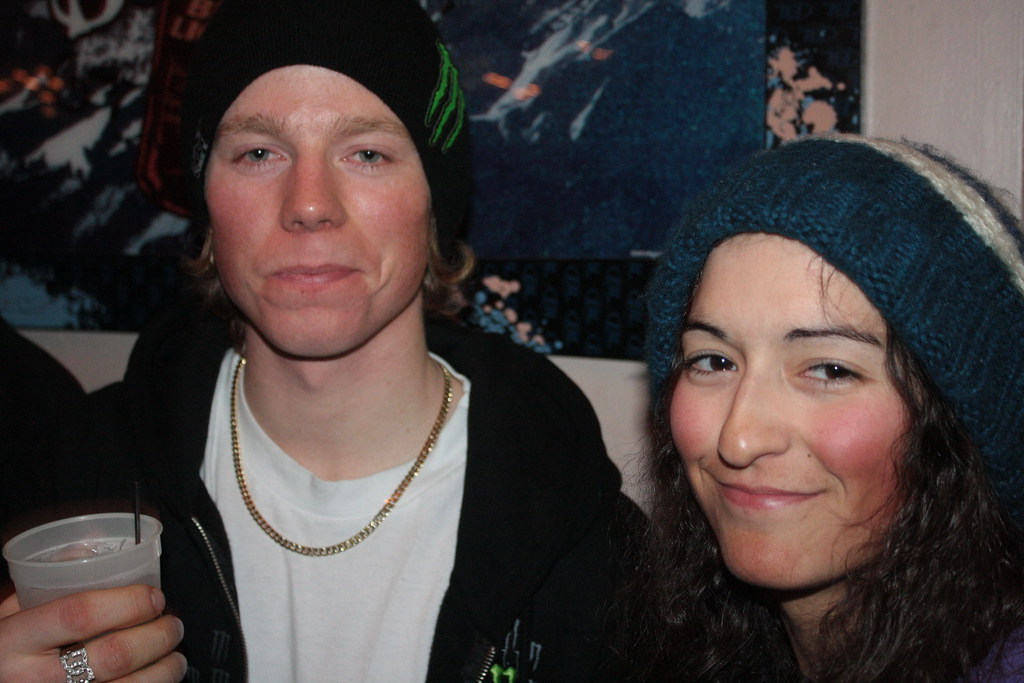 Torstein Horgmo and Lynn Neil added a big part to the life of the party