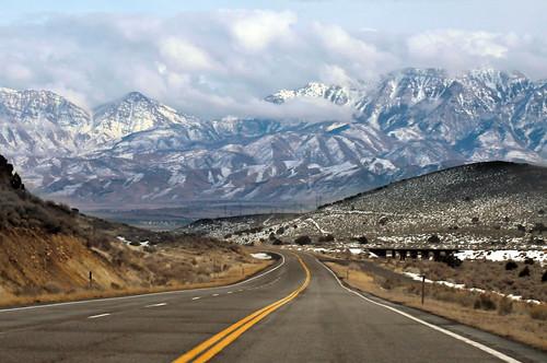 Highway East toward Elberta