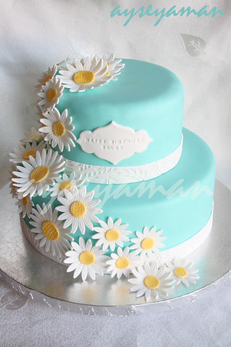 Tiffany's Blue Birthday Cake