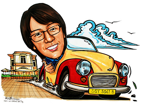 Caricature theme - Morris Minor @ Timbre