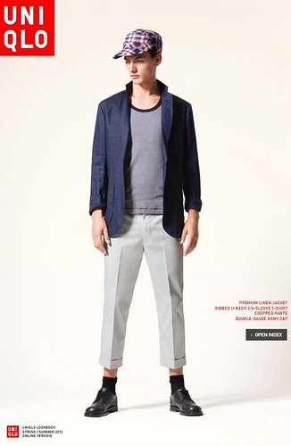 UNIQLO 0244_LOOK BOOK 2010 SPRING_Jakob Hybholt