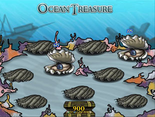 free Ocean Treasure slot bonus game