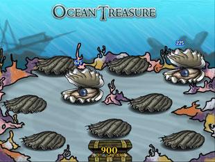free Ocean Treasure slot bonus game