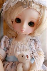 My Yo-SD's (MiriamBJDolls) Tags: bear doll group sofa sd bjd dolly superdollfie volks limitededition carlota yosd hinaichigo rosenlied dollsparty18