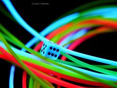 Schwarzlicht (Kati Kerber) Tags: blue red white black green rot neon bright fluorescent blacklight cube grn blau weiss porcelain schwarz wrfel leuchtend porzellan dazzling schwarzlicht grell uvlicht fluoreszierend leuchtschnur luminousstring