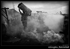Mausok na Paligiran (alien_scream) Tags: wood black smoke burning charcoal itim vitas d90 tondo uling alienscream uling