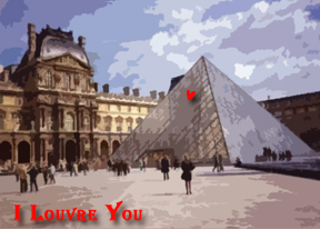 i louvre you