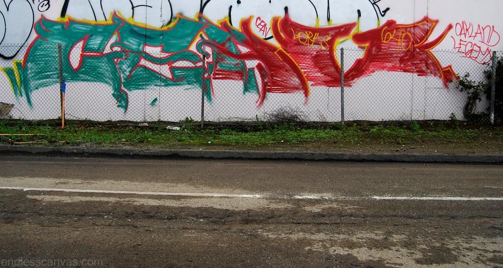 Ceaver 640 Graffiti Oakland California.