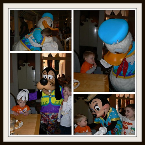 Breakfast with Donald, Goofy and Minnie at Cape May