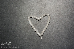 ..  ..pure heart (Alaa-Bukhari) Tags: white black love heart pure