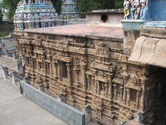 Part of an unpainted wall (chatts) Tags: history architecture temple ancient vishnu hindu srirangam dravidian ranganathaswamy
