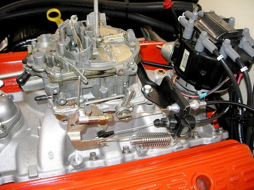 Throttle and transmission linkage