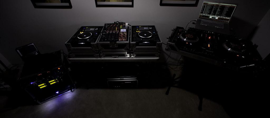 CAW's DJ Setup