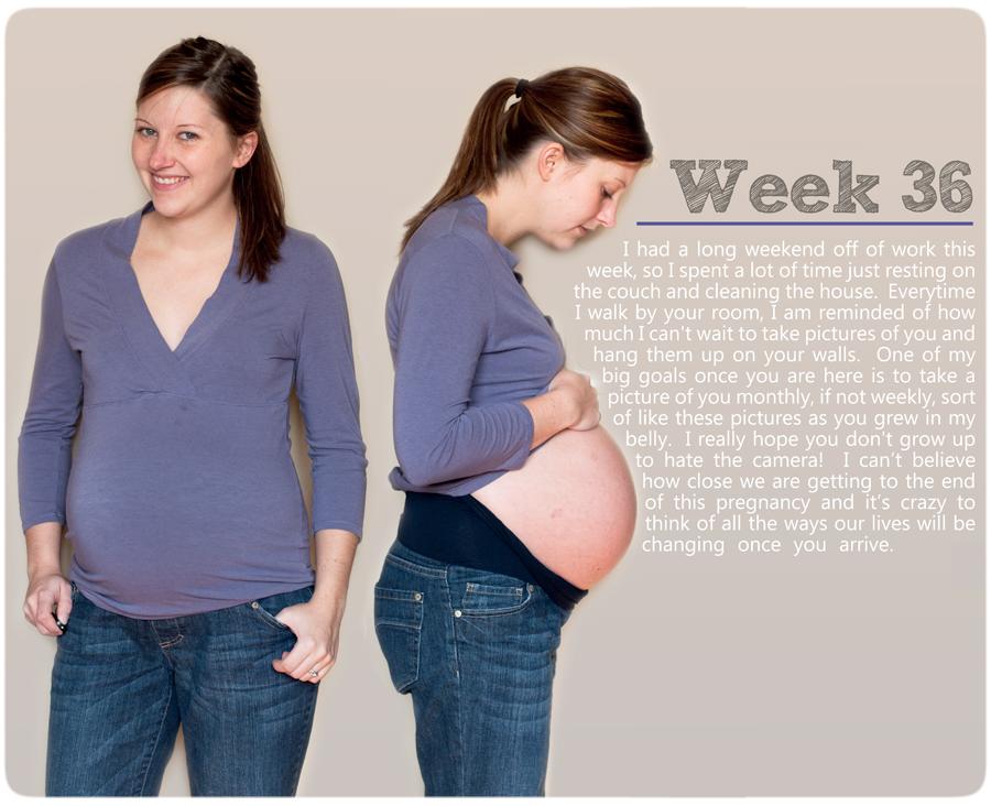 36 Weeks Pregnant