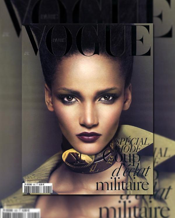 Vogue Paris March 2010 cover - Rose Cordero by Mert Alas & Marcus Piggott