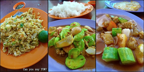 Chinese dishes @ Pusing