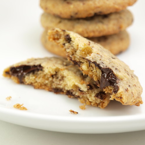 Orange Almond Chocolate Cookies