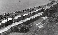 Spa 1901 at the foot of Hamilton Terrace Cliffs (Richie Wisbey) Tags: old sea holiday history beach water out fun suffolk seaside sand flickr day stones rich north victorian pebbles resort huts richie richard gem felixstowe edwardian nord wisbey richardwisbey richiewisbey richwisbey wisbeyflickr wisbeyphotography richiewisbeycollection