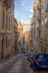 Valletta (pbr42) Tags: street city car architecture malta hdr valletta