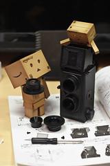 Camera Lens ( Act.7) (Ali Tse) Tags: camera toy toys amazon limited danbo tslr  revoltech jfigure danboard  gakkenflex