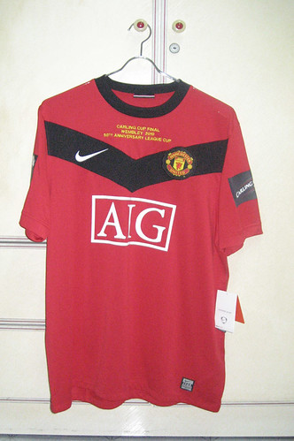 Manchester United 2009-2010 Home S/S (Carling Cup Final 2010)
