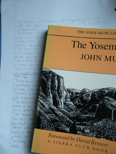 John Muir commonplace book