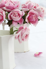bouquet (..Ania.) Tags: pink flowers stilllife rose bouquet