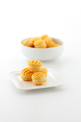 Custard Cookies (AngelaBax) Tags: food cookies sweet eat biscuits custard canoneos5dmkll angbax