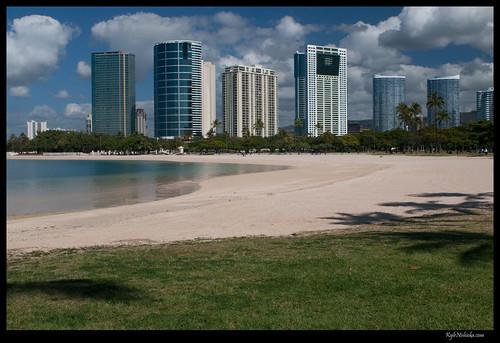 Ala Moana Beach #hitsunami