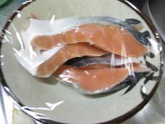 I鮭をレンチン